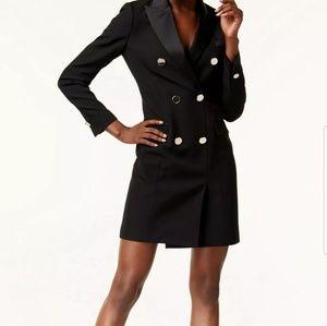 Ann Klein Tuxedo dress new